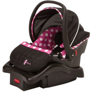 Minnie Mouse Light & Comfy Baby Car Seat